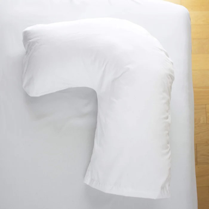 dmi u shaped contour body pillow great for side sleeping neck pain