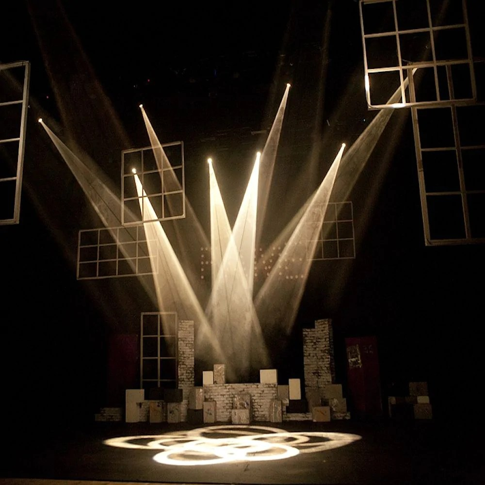 how lighting is used in theatre the