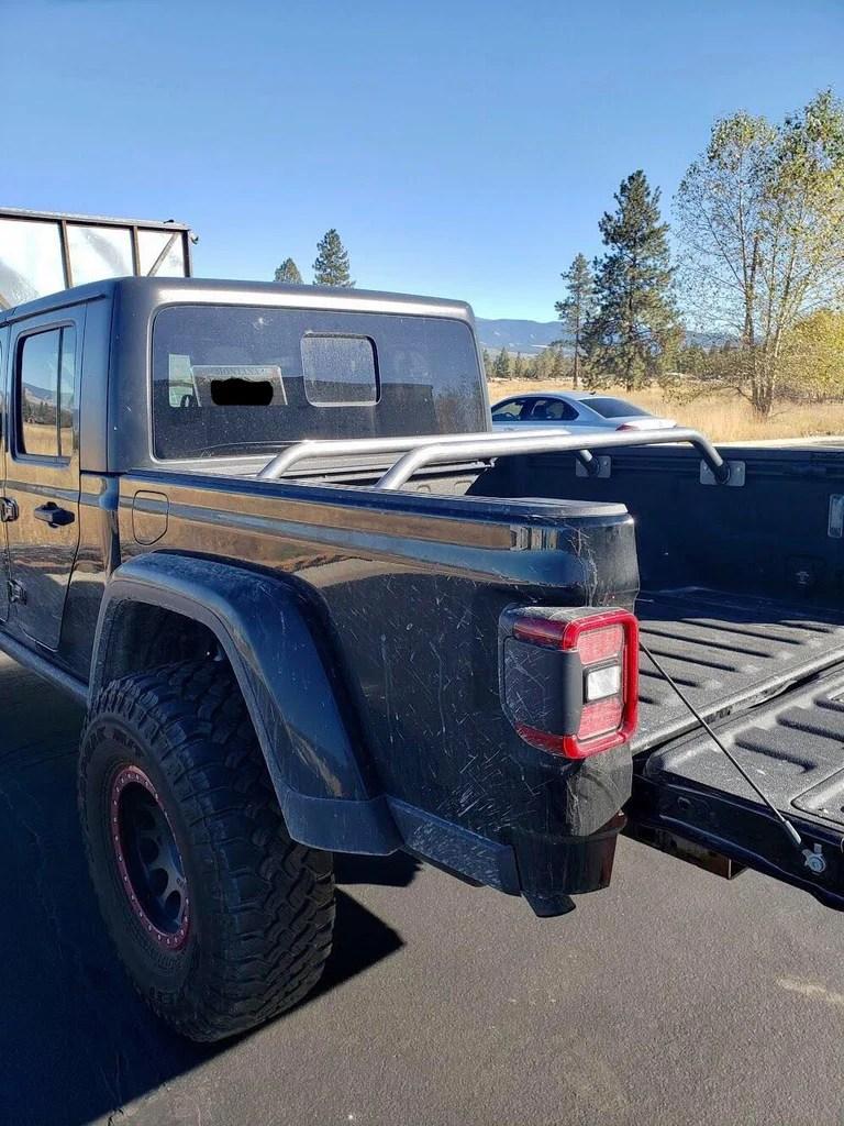 jeep jt gladiator modular trail rail