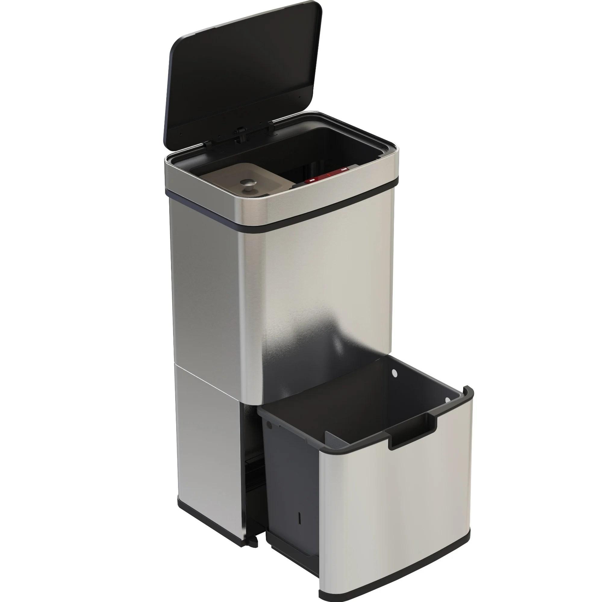 poubelle de cuisine automatique tri