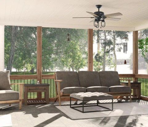 refreshing outdoor patio ceiling ideas
