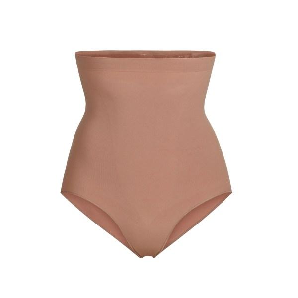SKIMS Women's Sculpting High Waist Brief Shapewear - Nude - Size 4XL/5XL