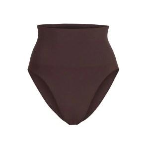 SKIMS Women's Core Control Brief Shapewear - Brown - Size 4XL/5XL