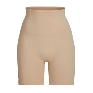 SKIMS Core Control Short Mid Thigh Shapewear - Nude - Size 4XL/5XL