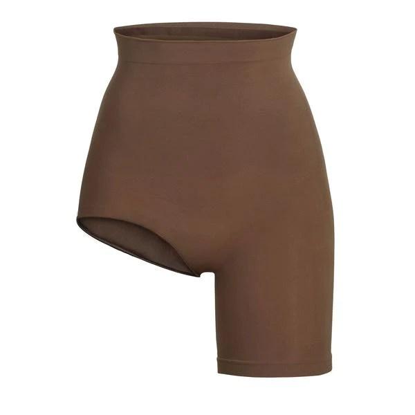 SKIMS Solution Short #2 Shapewear - Brown - Size 4XL/5XL