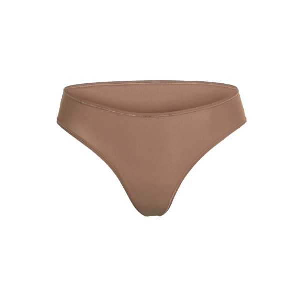 SKIMS Women's Fits Everybody Cheeky Brief Panties - Brown - Size 4XL