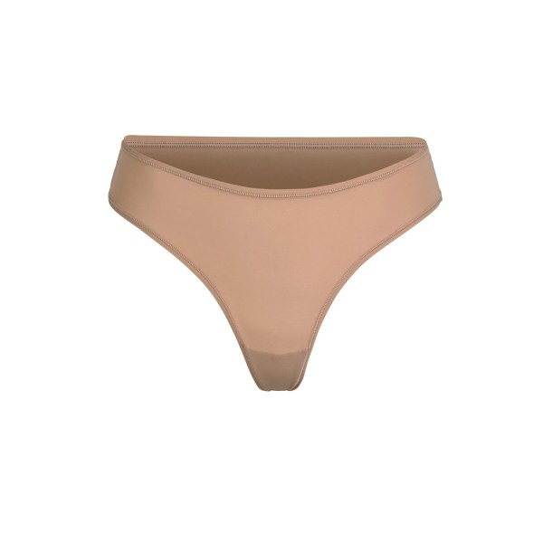 SKIMS Fits Everybody Thong Panties - Nude - Size 4XL
