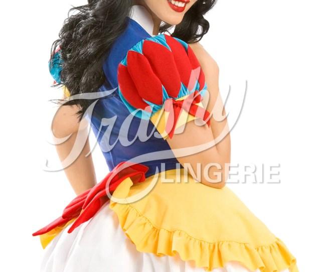 Snow White Dress Trashy Com