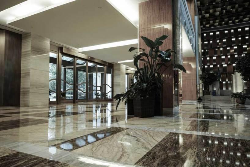 Hoteles con mármol