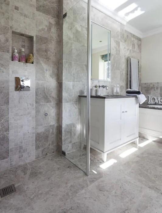 tundra gray marble tiles