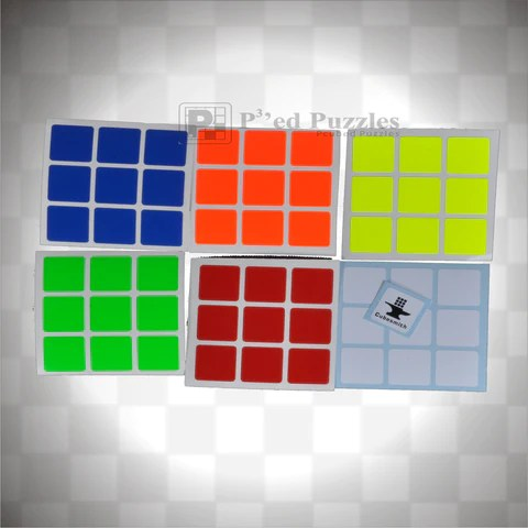 cube stickers pcubed puzzles