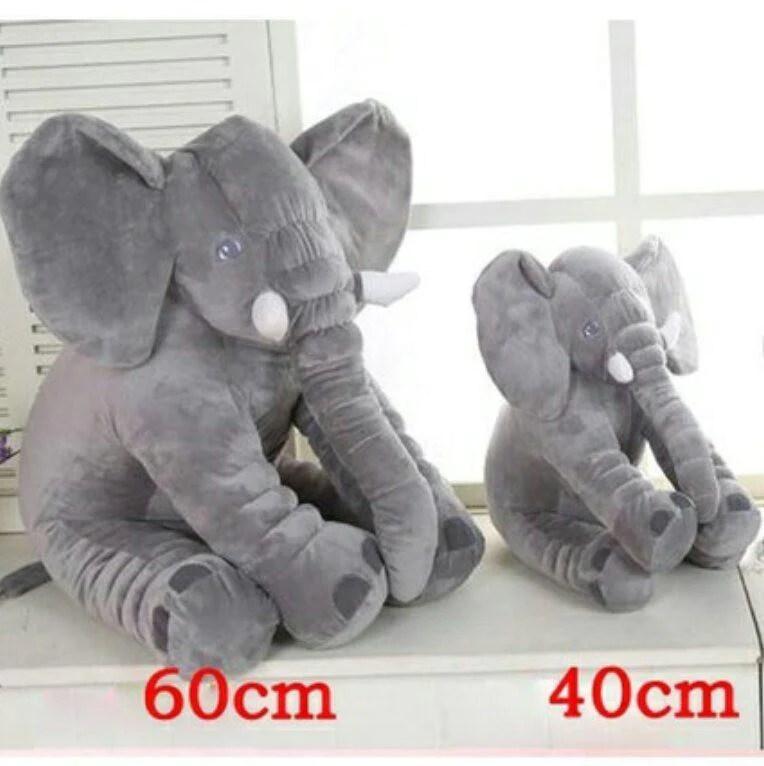 baby elephant pillow stuffed toy 40cm 60cm