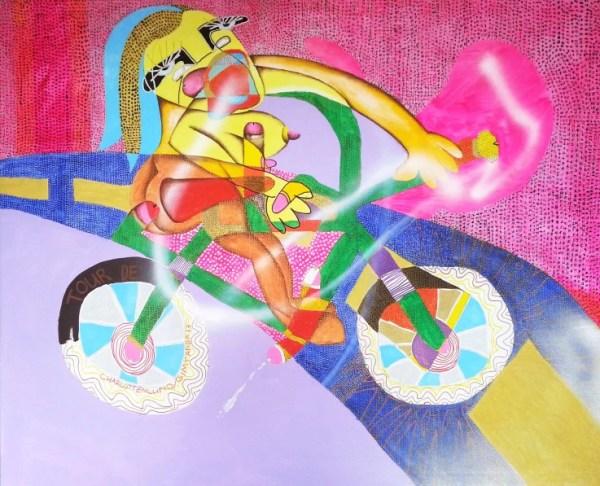 Simtanda Caspersen, Hans, (Wonder Bike In Action)