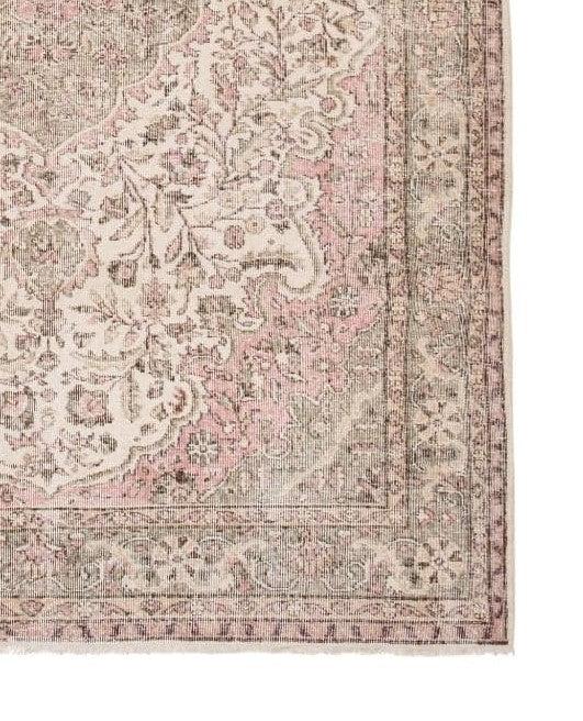 tapis persan vintage fait main 211x300 cm