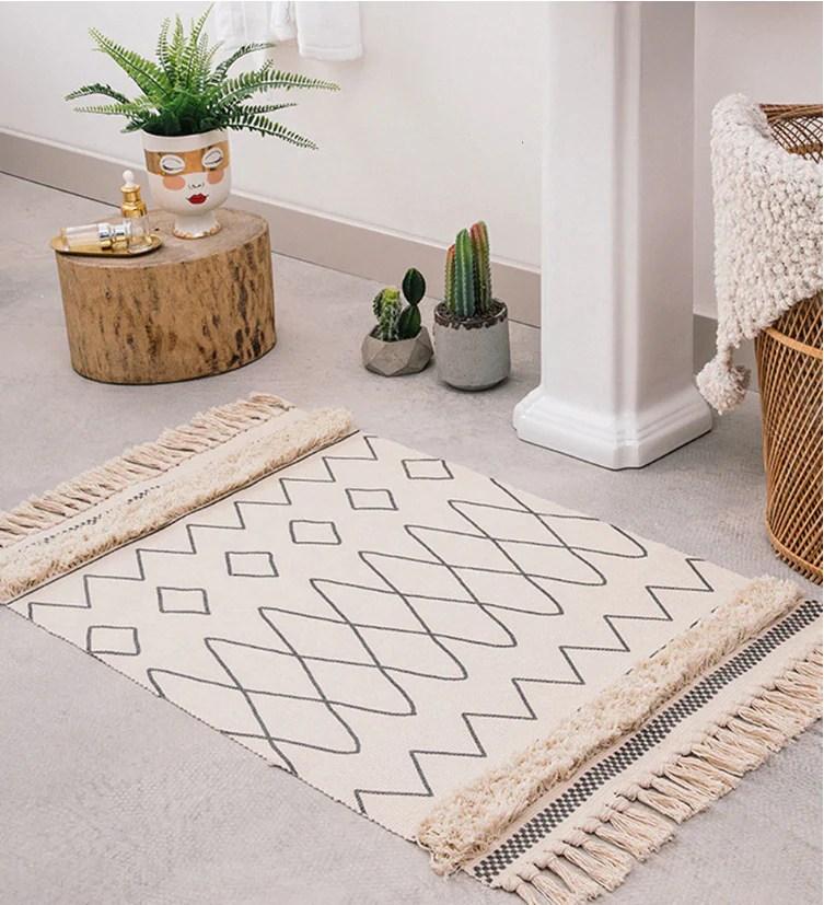 tapis inspiration berbere style scandinave