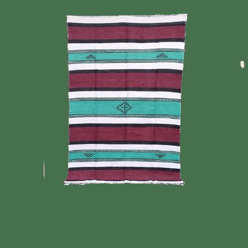 tapis berbere en coton leger 140x225 cm
