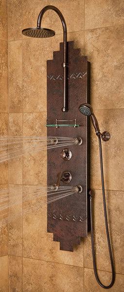 Pulse ShowerSpas Navajo ShowerPanel  1018  RainShowersDirectcom