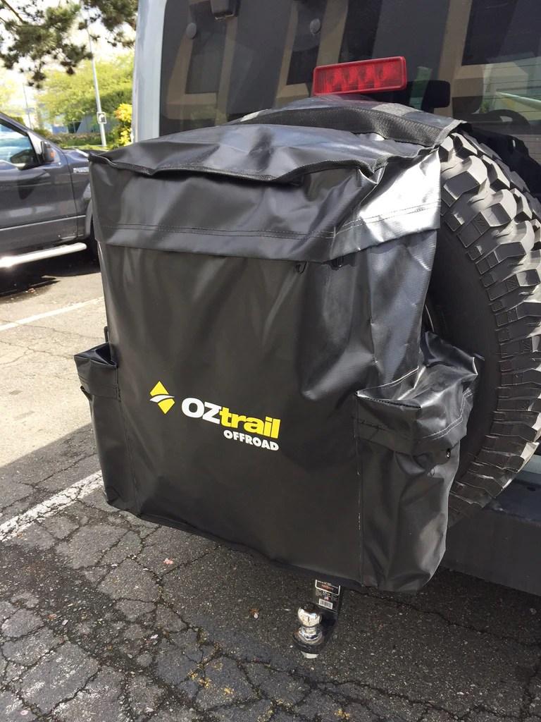 Spare Wheel Bin  Accessory Bag  Kakadu Camping