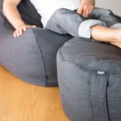 Lounge Chair Covers Spotlight Wheelchair Man Indoor Bean Bag Ottomans - Lujo