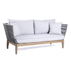 Sofa Furniture Singapore Light Brown Decor Outdoor Nook And Cranny Josefine 3 Seater