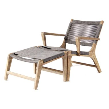 outdoor chair lounge folding camping chairs with canopy furniture singapore nook and cranny isabelle armchair footrest
