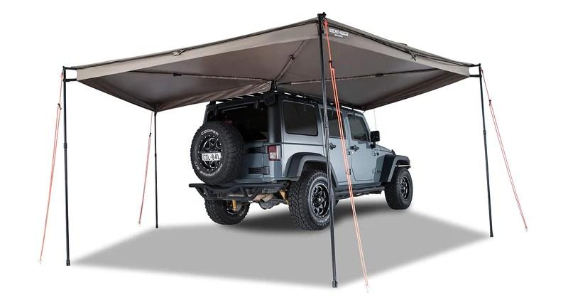 rhino rack batwing compact awning