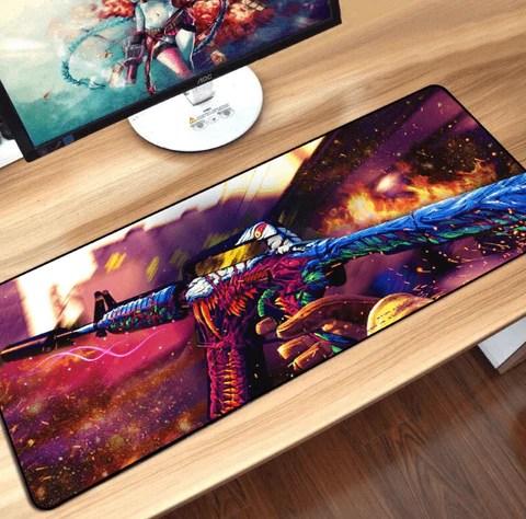 tapis de souris gamer fortnite fps 80x30cm