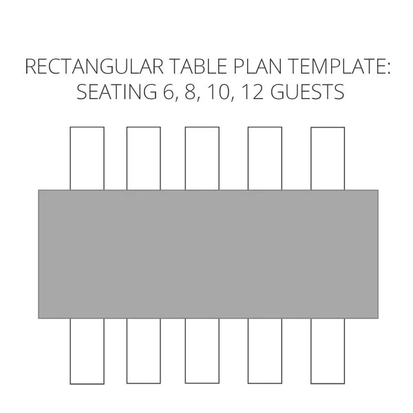 Wedding seating plan template to help visualise your table rectangular tables by also  planner free download the rh theweddingofmydreams