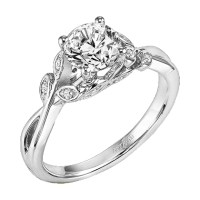 ArtCarved Corrine Solitaire Engagement Ring  Shop IDC ...