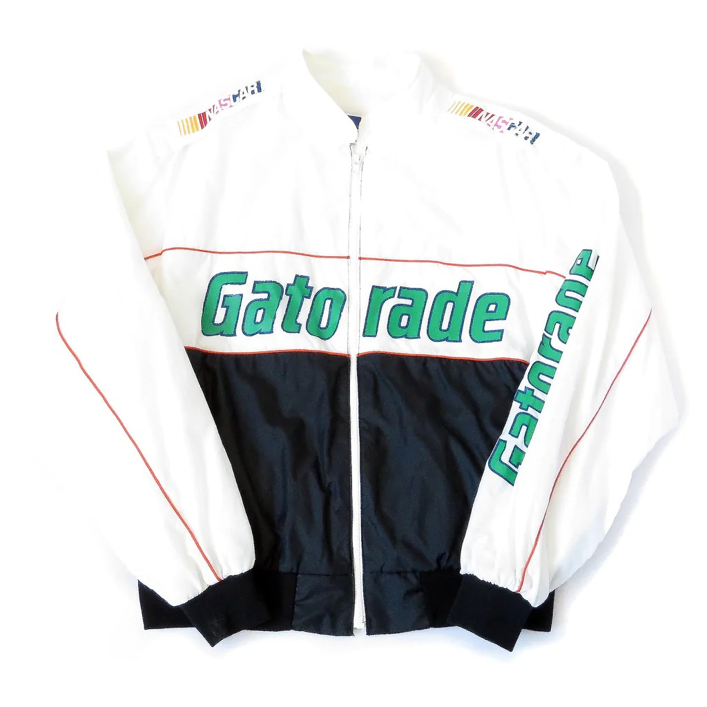 Vintage Nascar Gatorade Racing Team Jacket Sz Xl Sgmc
