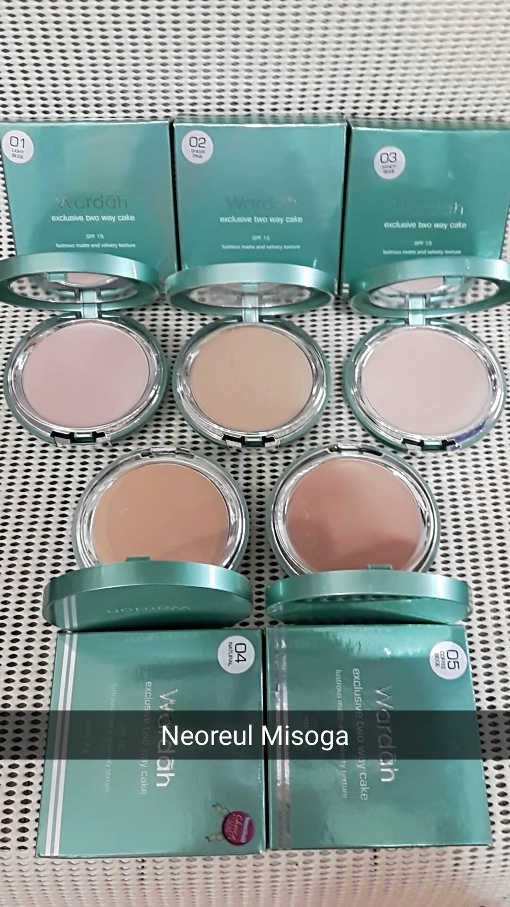 Warna Bedak Wardah : warna, bedak, wardah, Beauty, Matte, Cream, Halal, Cosmetics, Australia