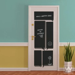 Chalkboard Ideas For Kitchen Commercial Hood Parts Talk Block To Do List Reminder Vinyl Wall ...