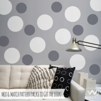 Large Dots Vinyl Wall Decals - Shapes and Stickers for ...
