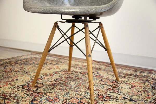 seng chicago chair navy parsons rare eames paw rope edge swivel in elephant grey old new house