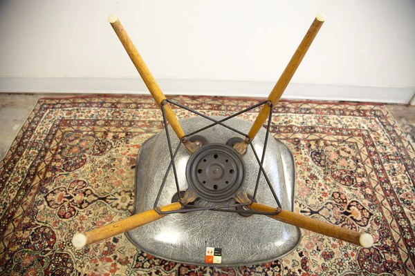 seng chicago chair hanging debenhams rare eames paw rope edge swivel in elephant grey old new house
