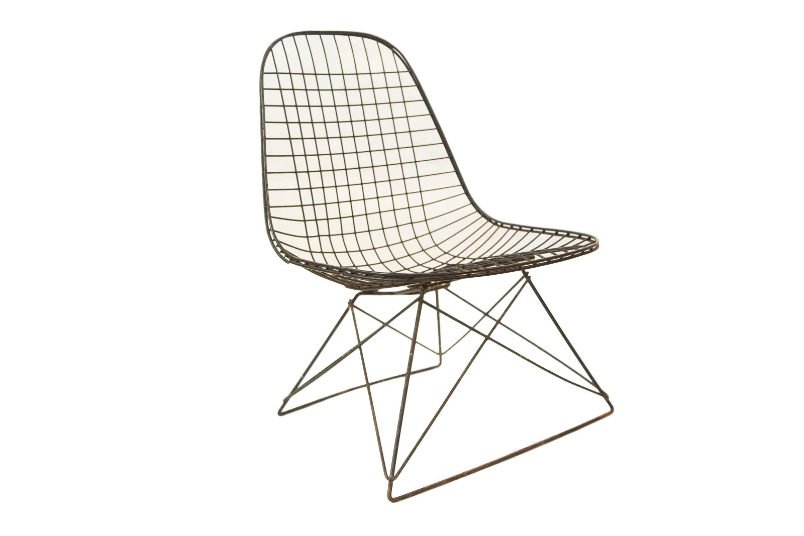 Eames Wire Chair Eames Wire Lkr Chair Rare Cat S Cradle Base