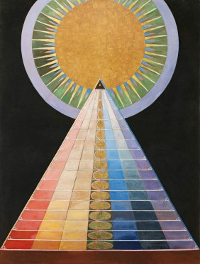 Hilma af Klint's Altarpiece, No. 1, Group X – 20x200