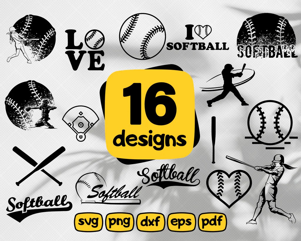 Free svg files to download. Softball Svg Baseball Svg Baseball Svg Cut Files Baseball Monogram For Clipartic