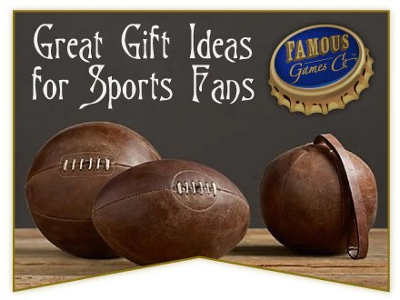 Great Gift Ideas For The Special Sports Fans In Your Life