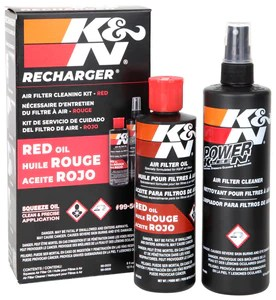 K&N FILTER CARE SERVICE KIT - SQUEEZE BLACK/RED – Meredith Metalworks