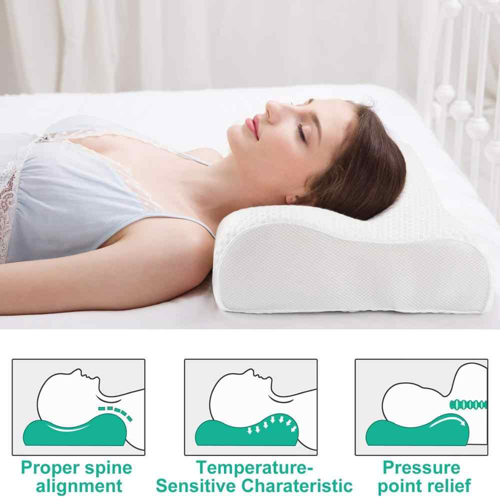 sleep rite contour heavy deluxe visco elastic memory pillow