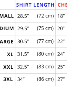 Mens  shirt size sizing guide teeturtle also keninamas rh