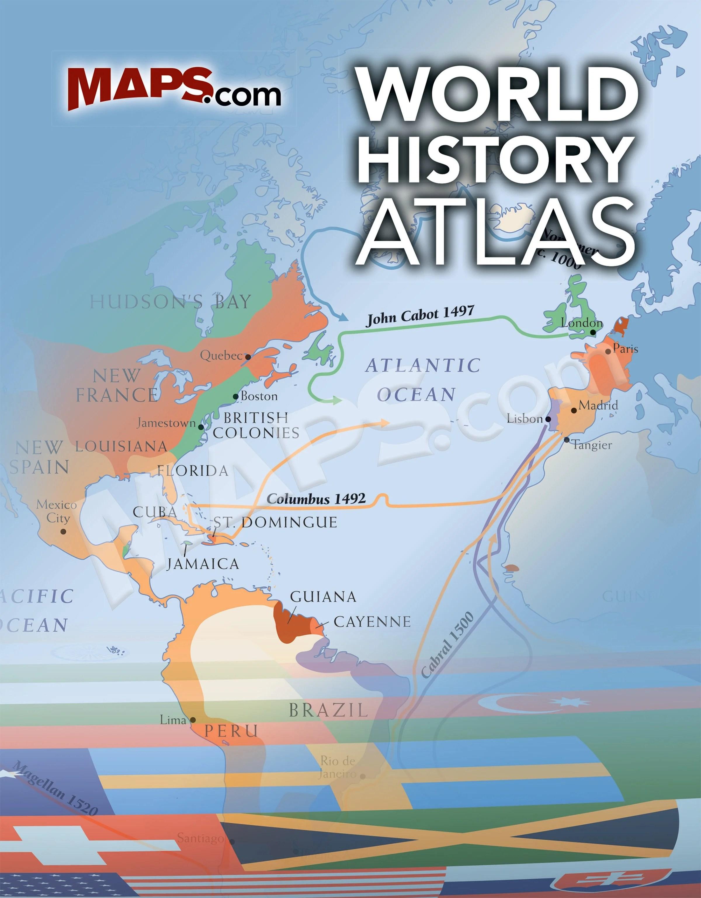 World History Map : world, history, World, History, Atlas, Maps.com.com