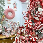 Peppermint And Gingerbread Christmas Tree Trendy Tree