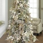 2017 Gold Silver Christmas Tree Inspiration Trendy Tree