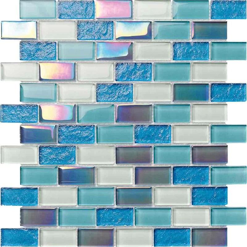 glass pool mosaic tile miami blend 1x2
