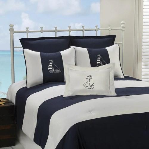 Nautical Dorm Bedding  Designer Twin XL Comforters