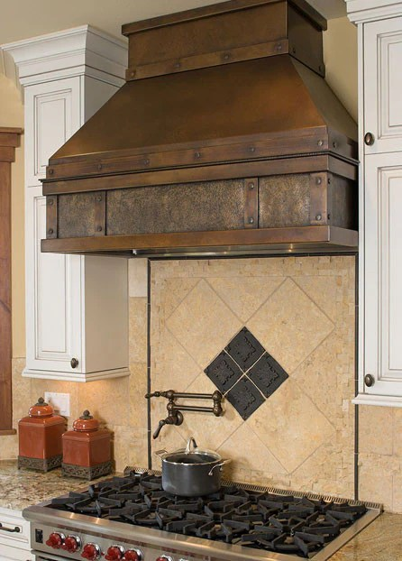 Blair Residence Range Hood 12th Avenue Iron Inc