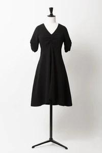 Fit & Flare Dress | Noir