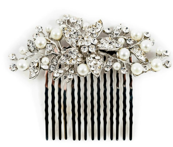 bridal hair combs – the bridal outlet